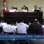 """Chiclayo: Se volvió a reprogramamar juicio contra """"La Nueva Gran Sangre"""""""