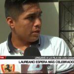 Laureano espera más celebraciones
