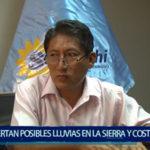 Piura: Alertan posibles lluvias en la sierra y costa del Perú
