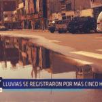 Chimbote: Lluvias se registraron por más cinco horas