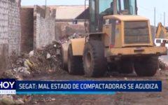 SEGAT: Mal estado de compactadoras se agudiza