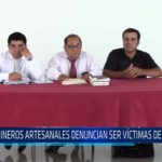 Chiclayo: Mineros artesanales denuncian ser víctimas de amenazas