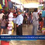 Chiclayo: Por asamblea no atenderán en mercado Moshoqueque