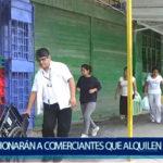 Piura: Sancionarán a comerciantes formales que alquilen espacios públicos