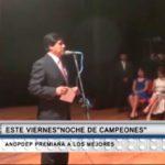 ANDPDEP premia a los mejores en noche de campeones