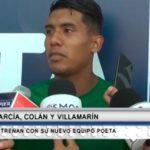 Garcia Colán y Villamarin entrenan con su nuevo equipo poeta