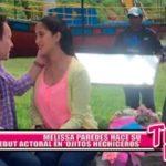 """Nacional: Melissa Paredes hace su debut actoral en """"Ojitos hechiceros"""""""