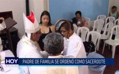 Chiclayo: Padre de familia se ordenó como sacerdote