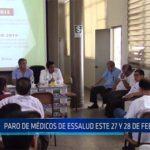 Chiclayo: Paro de médicos de este 27 y 28 de febrero