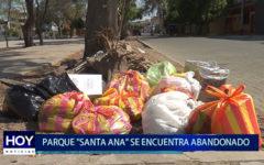 """Piura: Parque """"Santa Ana"""" se encuentra abandonado"""