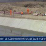 Chiclayo: PEOT de acuerdo con prorroga de concreto de urgencia 003