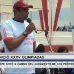 Pepe Soto a cargo del juramento de los profesionales