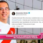 Nacional: Personajes de la Tv lamentan muerte del periodista Daniel Peredo