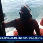 Piura: Posibilidades de encontrar a pescadores desaparecidos en Sechura son mínimas