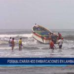 Chiclayo: Formalizan 400 embarcaciones en Lambayeque