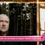 Internacional: Phil Collins fue retenido en Brasil por no tener Visa