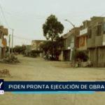 Chimbote: Piden pronta ejecución de obra