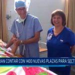 Esperan contar con 1400 nuevas plazas para sector salud