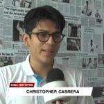 Taekwondo: Christopher será distinguido en Noche de Campeones
