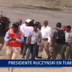 Piura: Presidente Kuczynski en Tumbes