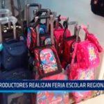 Productores realizan Feria Escolar Regional 2018