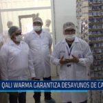 Chiclayo: Qali Warma garantiza desayunos de calidad