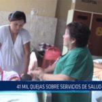Chiclayo: 41 mil quejas sobre servicios de salud