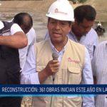 Chiclayo: Reconstrucción: 361 obras inician este año en Lambayeque