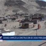 Coishco: Empezó la construcción de casas para damnificados