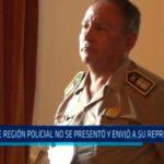 Trujillo: Jefe de  región policial no se presentó y envió a su representante