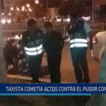 Chiclayo: Taxista cometía actos en contra el pudor con niños