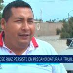 José Ruiz persiste en precandidatura a Trujillo