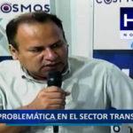 Problemática del sector transportes