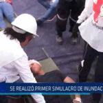 Chiclayo: Se realizó primer simulacro de inundación de rio