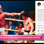 """Internacional: Stallone recordó su histórica pelea con Hogan en """"Rocky"""""""