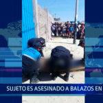 Piura: Sujeto es asesinado de varios balazos