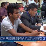 Chiclayo: Dictan prisión preventiva a taxista acusado de violación