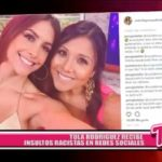 Nacional: Tula Rodríguez recibe insultos racistas en redes sociales
