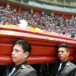 El último adiós a Daniel Peredo desde el estadio Nacional