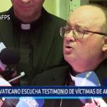 Chile: Vaticano escucha testimonio de víctimas de abuso sexual