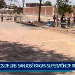 Piura: Vecinos de Urb. San José exigen supervisión en trabajos de Av. César Vallejo