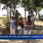 Piura: Vecinos de Upis Lae esperan culminación de obra de agua y alcantarillado