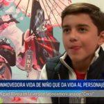 """Mexico: Conmovedora vida de niño que da vida al personaje de """"Coco"""""""