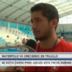 Waterpolo va creciendo en Trujillo