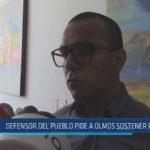 Chiclayo : Defensor del pueblo pide a Olmos sostener dialogo