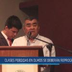 Chiclayo :Las clases perdidas en Olmos se deberán reprogramar
