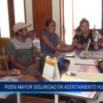 Chiclayo : Piden mayor seguridad en asentamiento humano