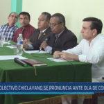 Chiclayo : Colectivo chiclayano se pronuncia ante ola de corrupción