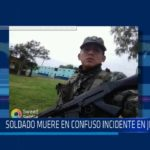 Chiclayo : Soldado muere en confuso incidente en JLO