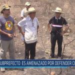 Chiclayo : Subprefecto es amenazado por defender Chaparrí